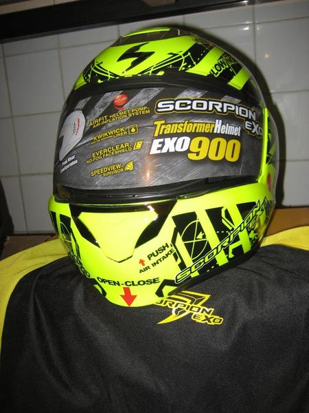 Casco en venta scorpion exo 900 air sin uso 1 thumb l