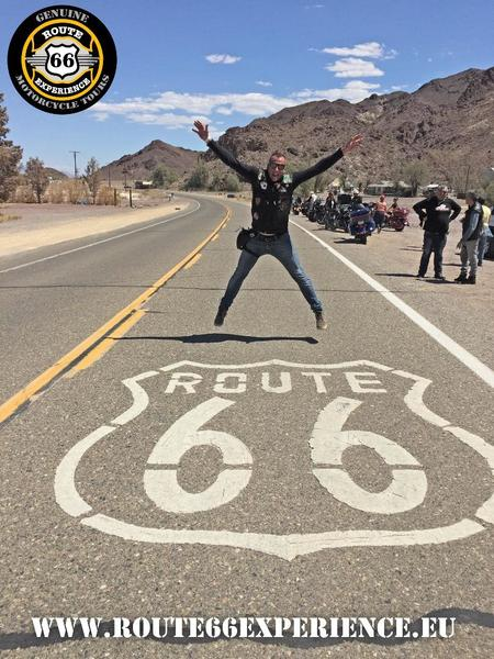 Route 66 floor sign thumb l
